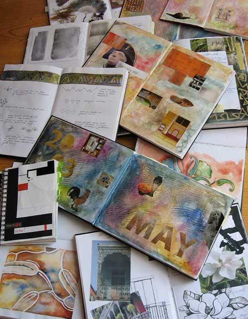 Studio Journals: A Designer's Workhorse with Sharon Boggon